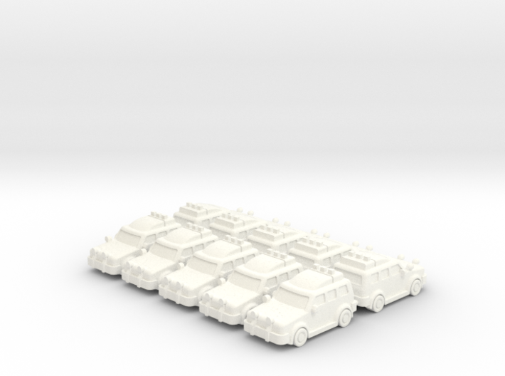 4x4 Cars (10 pcs) 3d printed