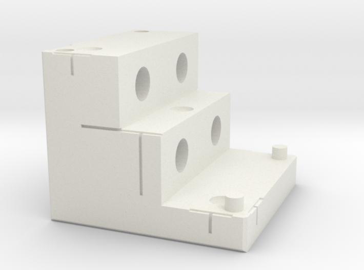 Marker Block 2A - 7mm Tungsten 3d printed