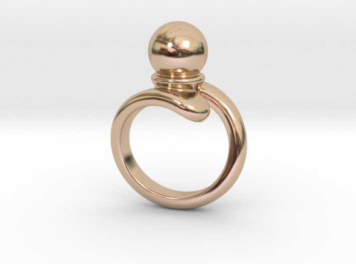 Fine Ring 16 - Italian Size 16 3d printed