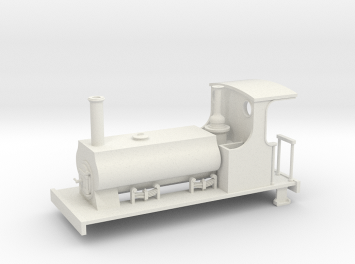 009 C&MLR Barclay saddle tank 3d printed