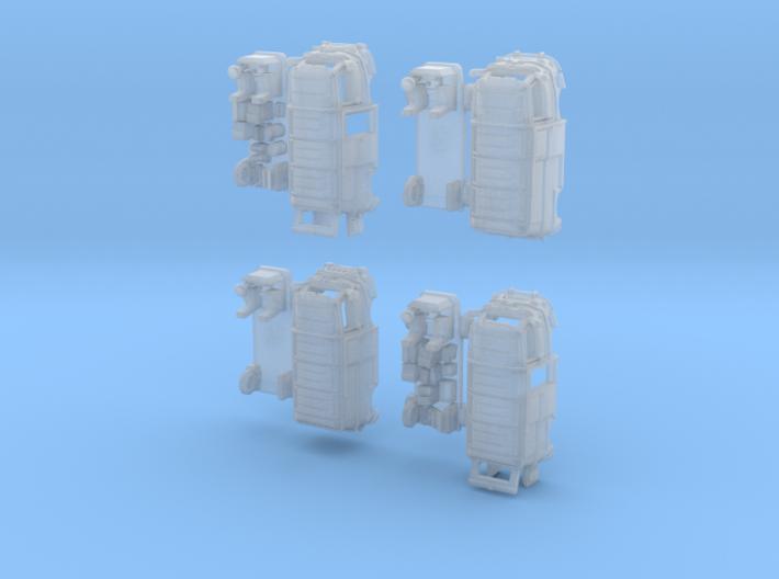 1-155 R-Estafette Fourgon SET 3d printed