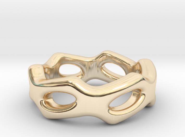 Fantasy Ring 14 - Italian Size 14 3d printed