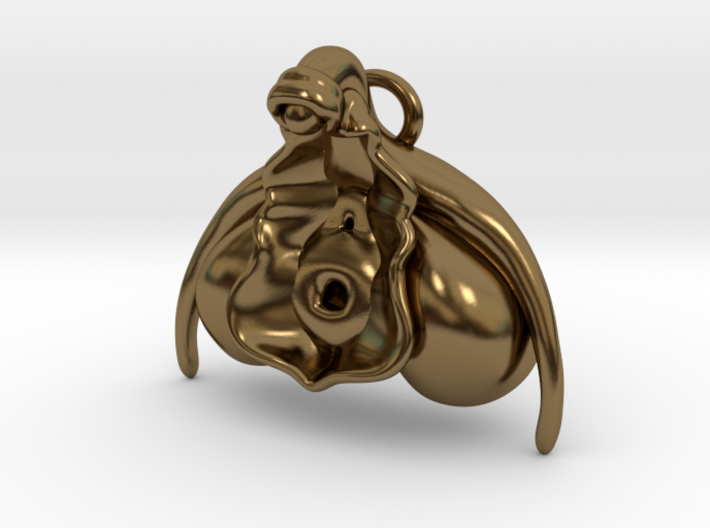 Anatomical Clit Charm 3d printed