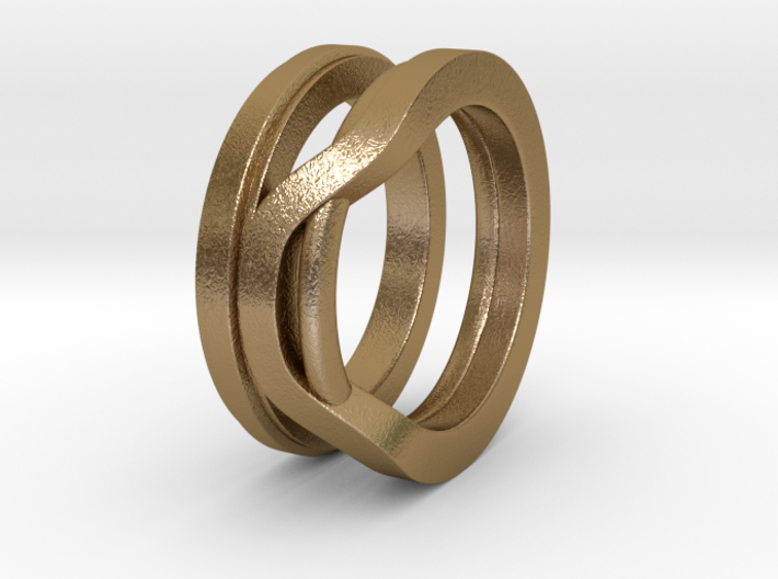 Balem's Ring1 - US-Size 6 1/2 (16.92 mm) 3d printed