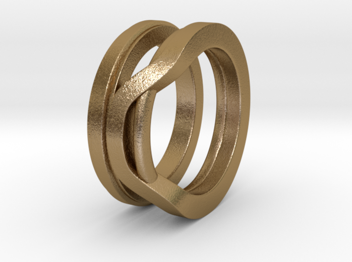 Balem's Ring1 - US-Size 13 (22.33 mm) 3d printed