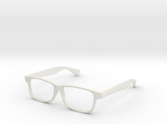 "Glasses - Replacement ""Modern Buzz"" Frame 3d printed"