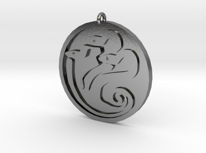 Hydra medallion by Martinus 3d printed
