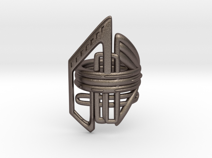 Balem's Ring2 - US-Size 7 (17.35 mm) 3d printed