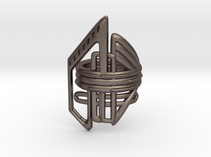 Balem's Ring2 - US-Size 5 1/2 (16.10 mm) 3d printed