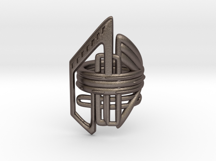 Balem's Ring2 - US-Size 4 1/2 (15.27 mm) 3d printed