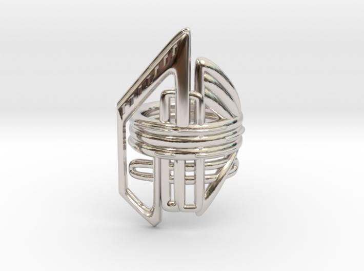 Balem's Ring2 - US-Size 3 1/2 (14.45 mm) 3d printed