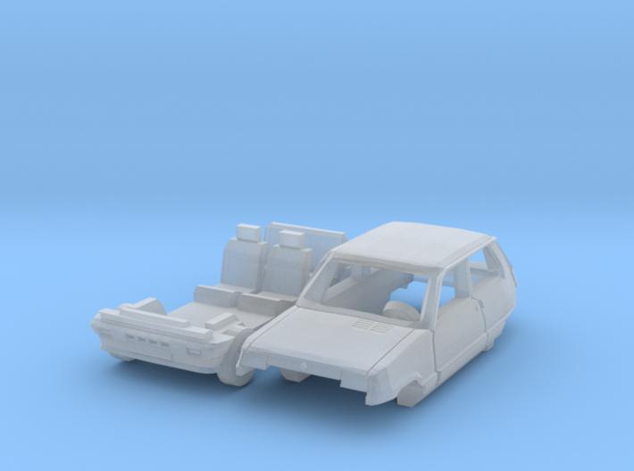 Renault 5 GTL (TT 1:120) 3d printed