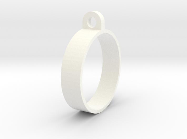 E-cig Mod Ring 24mm 3d printed