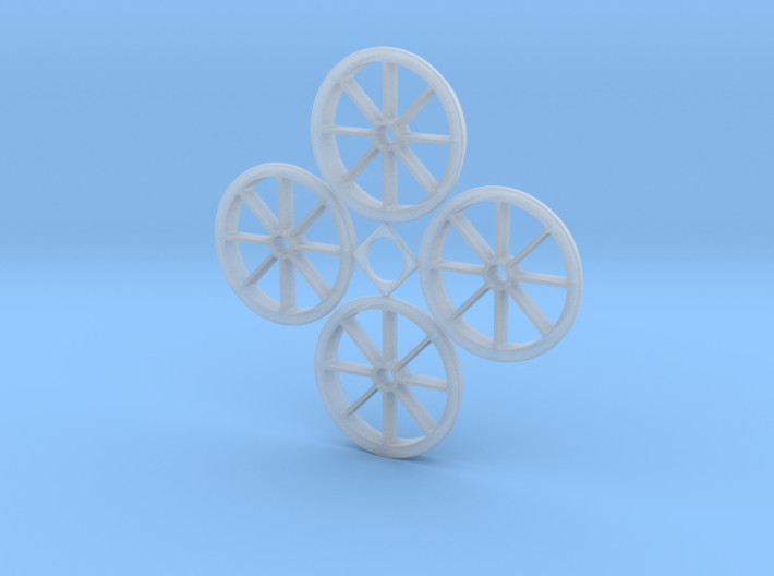 1:32 Hawaiian Cane Car Wheels 3d printed