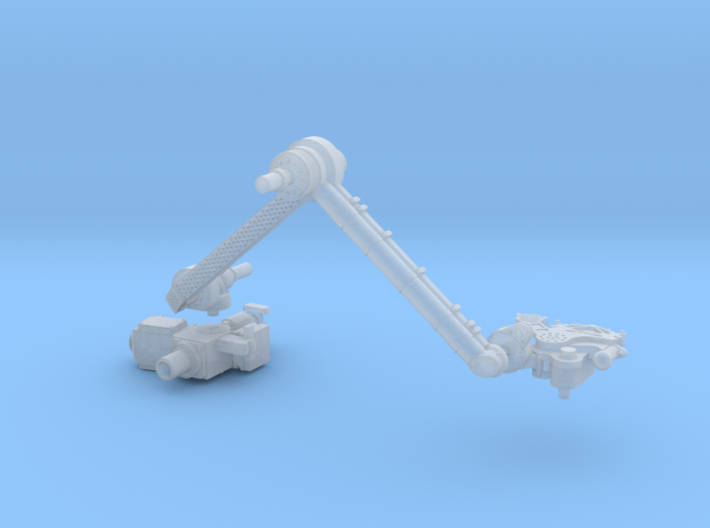 Mars Rover Robot Arm 1:10 3d printed