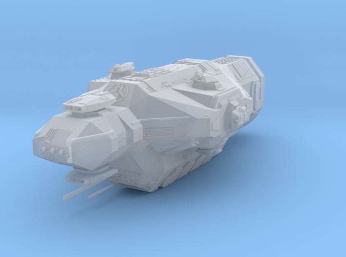 """Kushan """"Avatar"""" Heavy Cruiser 3d printed"""