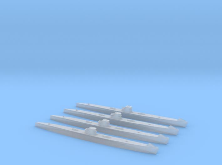 Type IXA U-Boat 1/2400 x4 3d printed