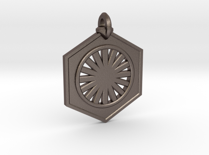 First Order Keychain 3d printed