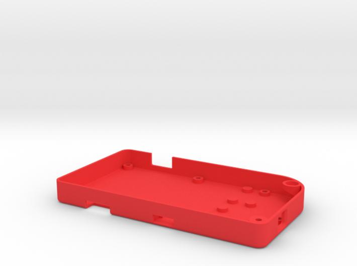 Pocket PiGRRL Case Back 3d printed