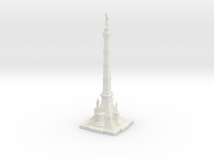 Soldiers' & Sailors' Civil War Monument 3d printed