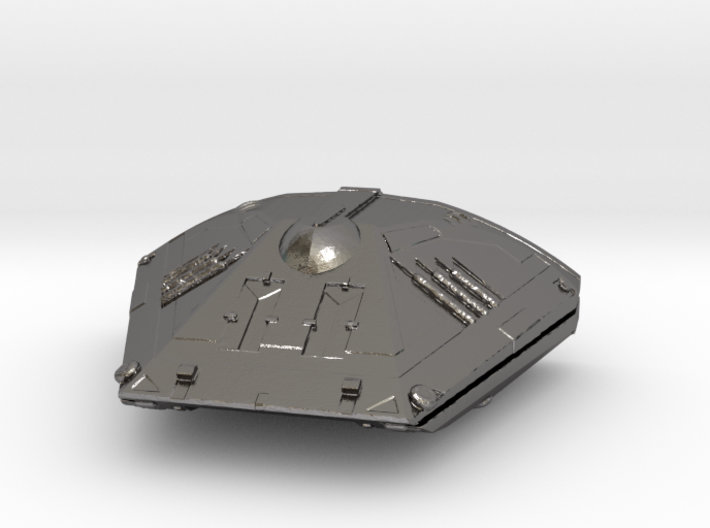 Sidewinder Ship from Elite:dangerous 3d printed