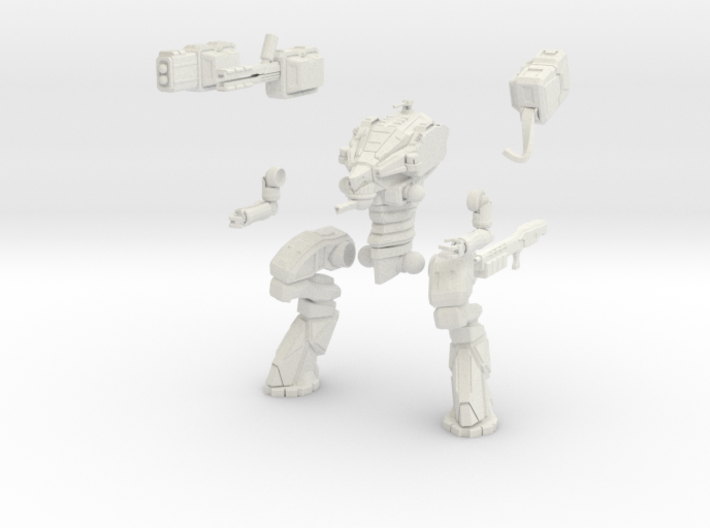 28mm scale mech - Wolverine 3d printed