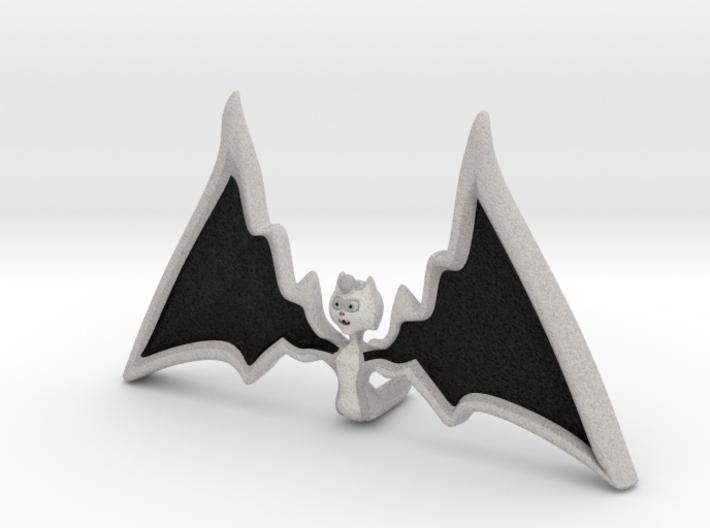 Halloween Hollowed Figurine: WarMaiden Batteeth 3d printed