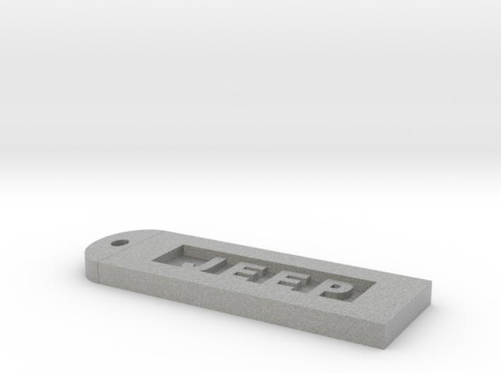Jeep Keychain 3d printed