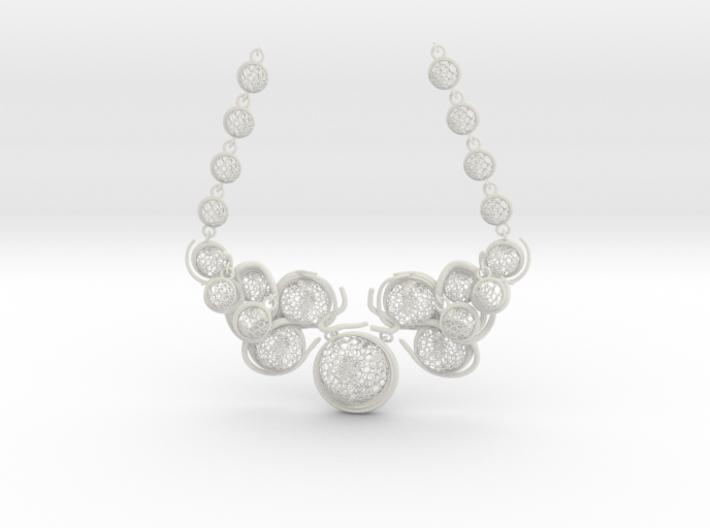 Aquar Necklace 3d printed