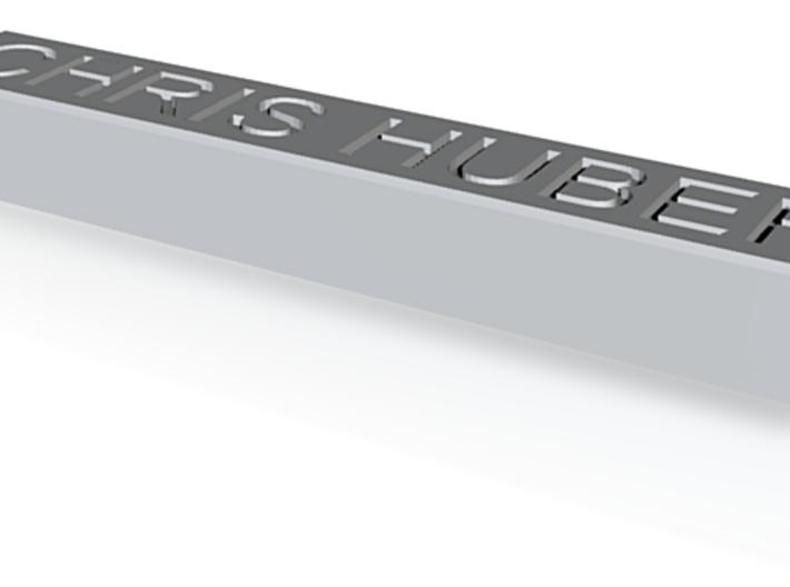 Custom Name Plate 3d printed