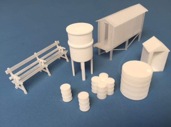HO scale precast concrete tank 3d printed A collection of some of the other models available in the madasu range