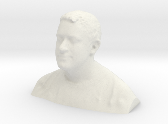 Man Bust 3d printed