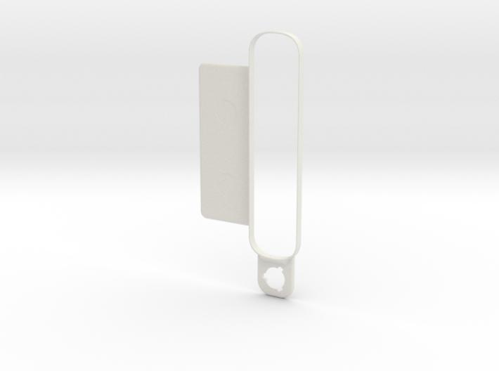 4eyesLensBracket-Collar-ForLens-Straight Plate 3d printed