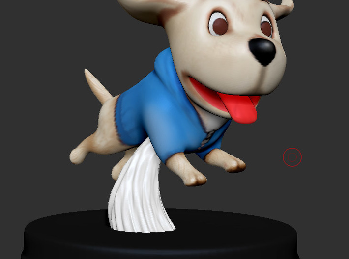 Puppies Out - Labrador 3d printed Puppies Out -  Labrador  - 3D Render