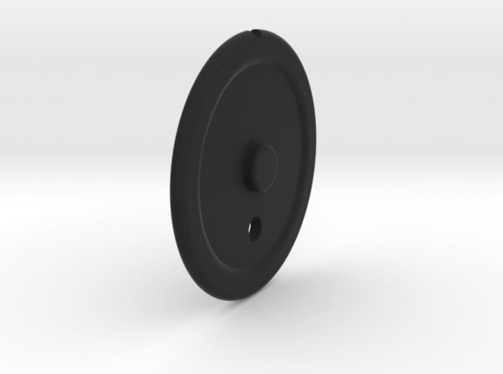 P51 early Elevator Trim Wheel 3d printed