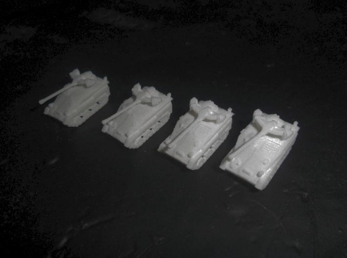 MG144-G06 Wiesel 1 MK20A 3d printed Modles in WSF