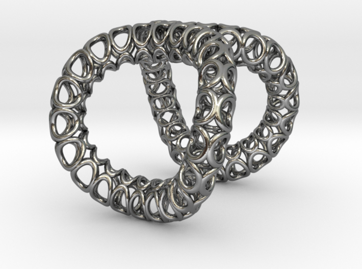 Infinity Ring (Size 6) 3d printed
