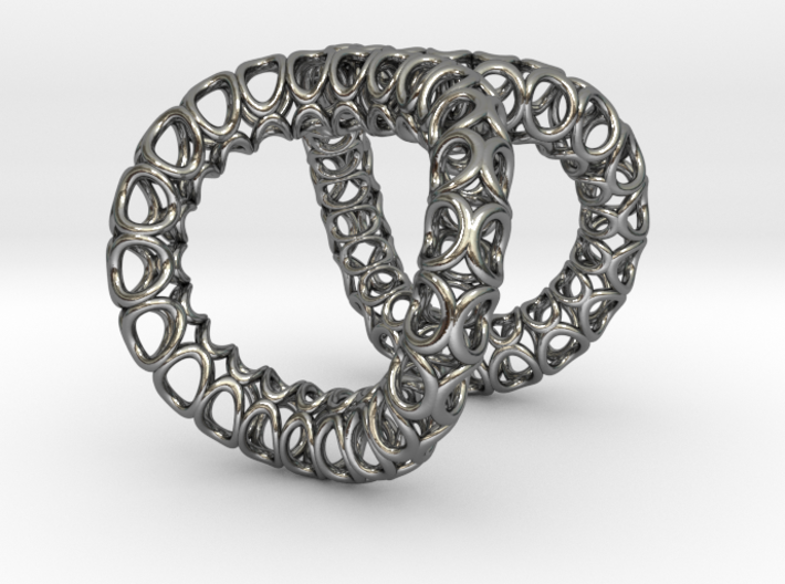 Infinity Ring (Size 5) 3d printed