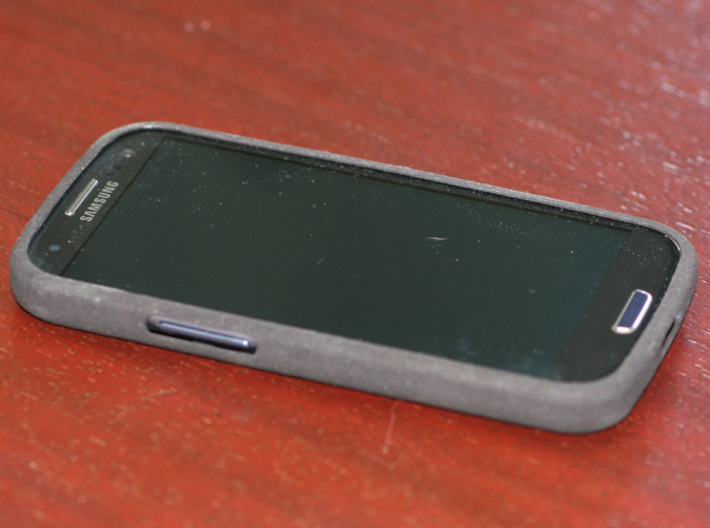 Galaxy S3 Atom case 3d printed