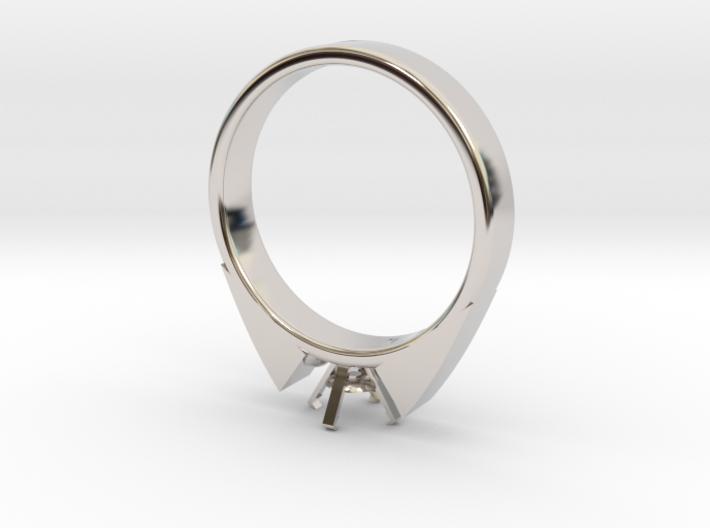 Alessa Design Ring For Diamond Ø17.83mm (Ø6mm New 3d printed