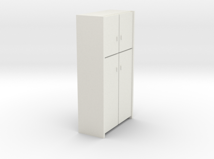 A 008 - 1 Schrank Cabinet 1:50 3d printed