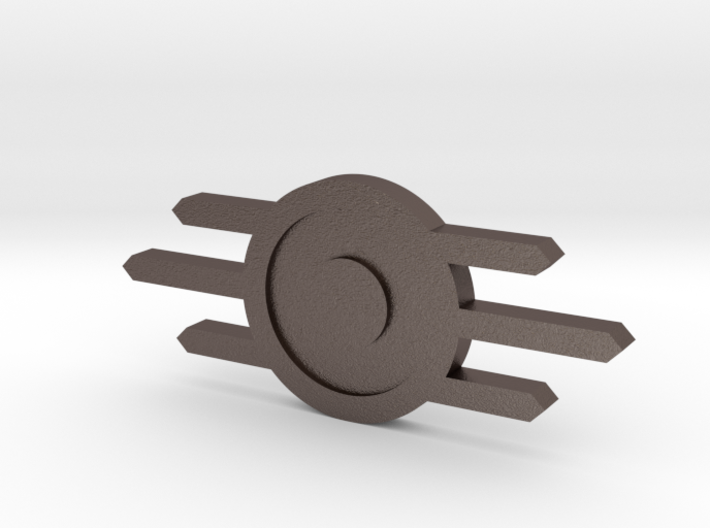 Fallout Style Vault-Tec Badge 3d printed