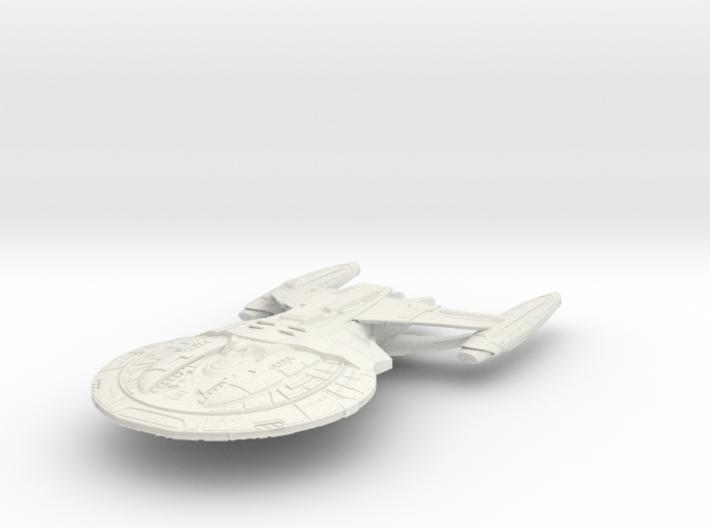 Enforcer Class BattleCruiser 3d printed