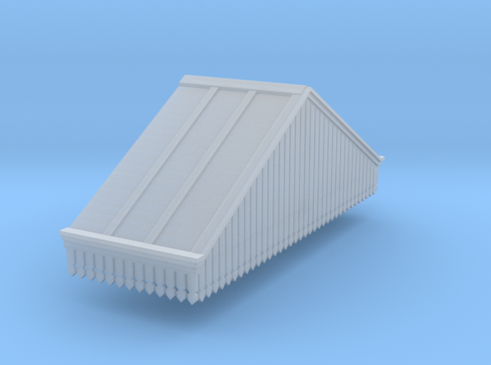 Platform Canopy Section 3 RH - N Scale 3d printed