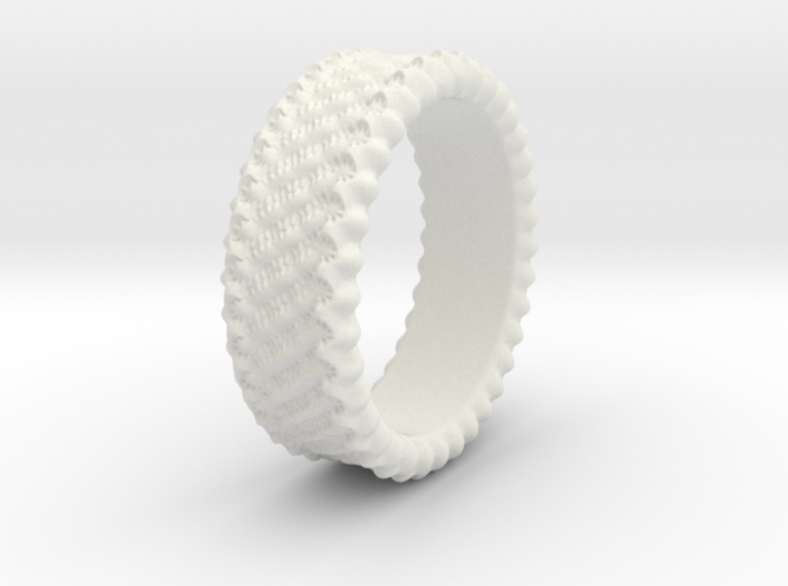 Elisa - Ring - US 6¾ - 17.12mm 3d printed