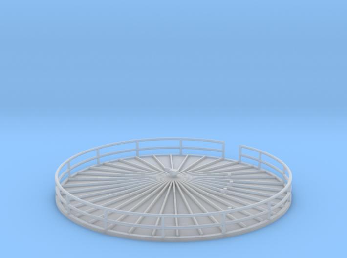 'N Scale' - Fermentation Tank Top - 26.67 Ft 3d printed