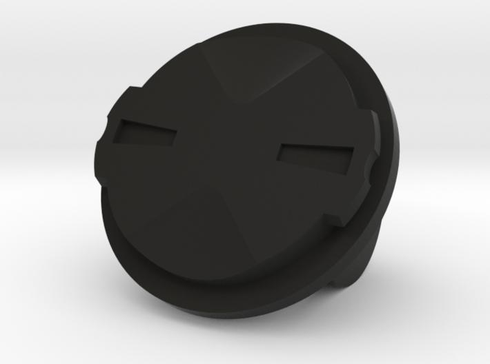 Garmin Edge Quarter Turn Male To GoPro Female Moun 3d printed