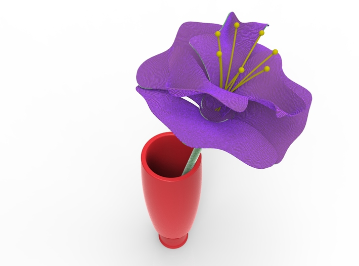 Lighter Plug Flower Vase for Volkswagen Beetle 3d printed