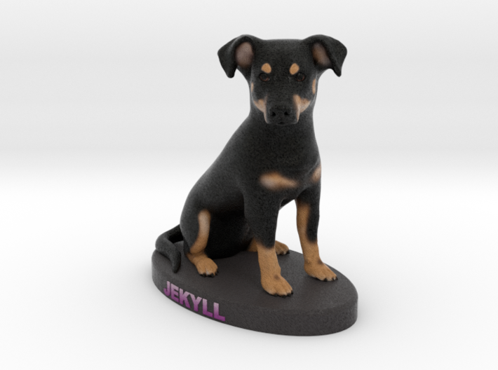Custom Dog Figurine - Jekyll 3d printed