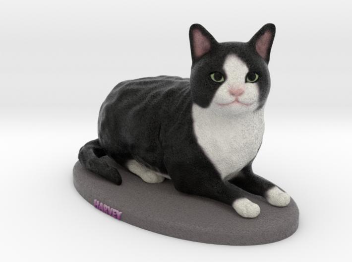 Custom Cat Figurine - Harvey 3d printed